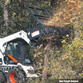 Bobcat Cortadora Forestal