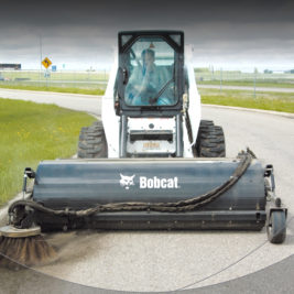 Bobcat Barredora con depósito