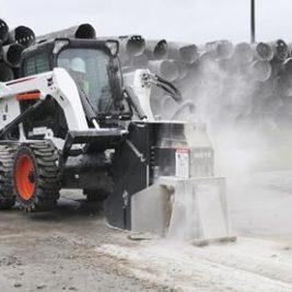 Bobcat Rueda cortadora de Concreto
