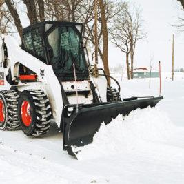 Bobcat Hoja Topadora p/ Nieve