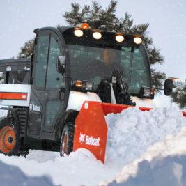 Bobcat Empujador de Nieve