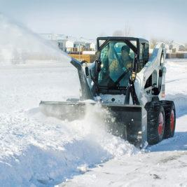 Bobcat Soplador de Nieve