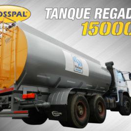 Grosspal Tanque regador 15000 litros