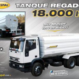 Grosspal Tanque regador 18.000 LTS