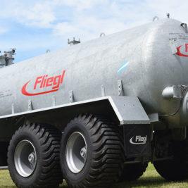 Fliegl Remolque Cisterna VFW 11.000 Litros Galvanizado
